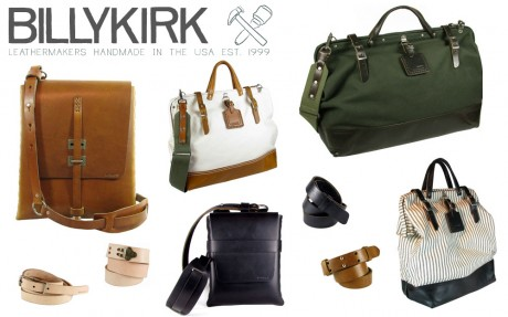 Billykirk, cool leather bags and accessories for dudes